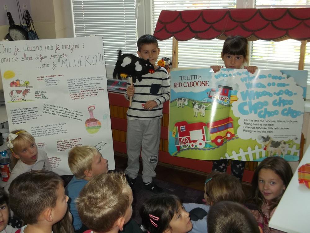 Obilježavanje Dana školskog mlijeka u skupini Tintilinići