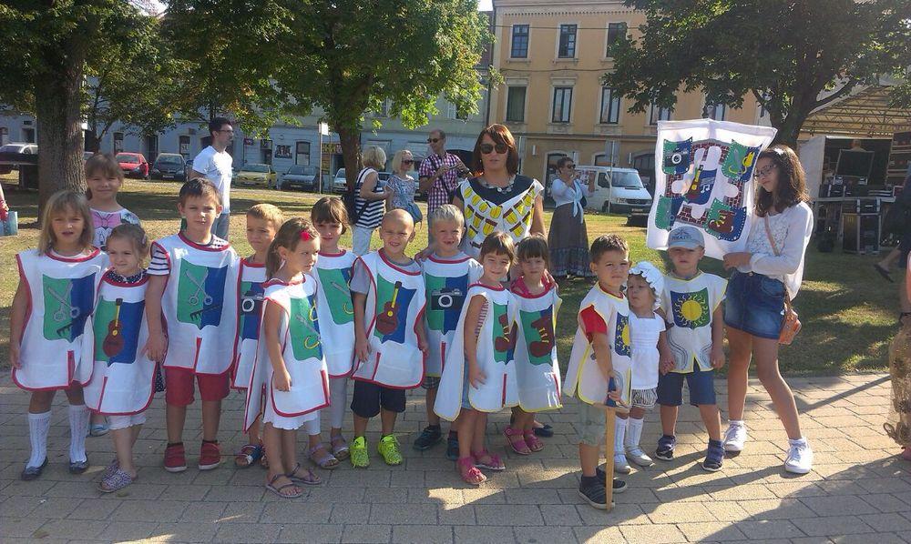 Djeca vrtića Sunce sudjelovala na manifestaciji Kupske noći