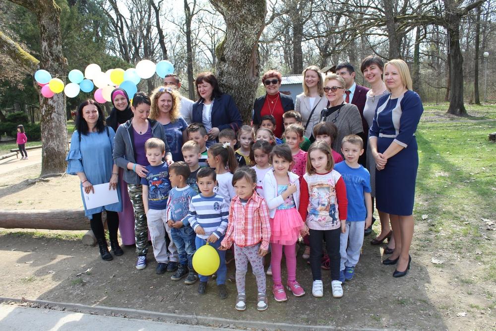 Gabi Novak posjetila Dječji vrtić Sisak Novi