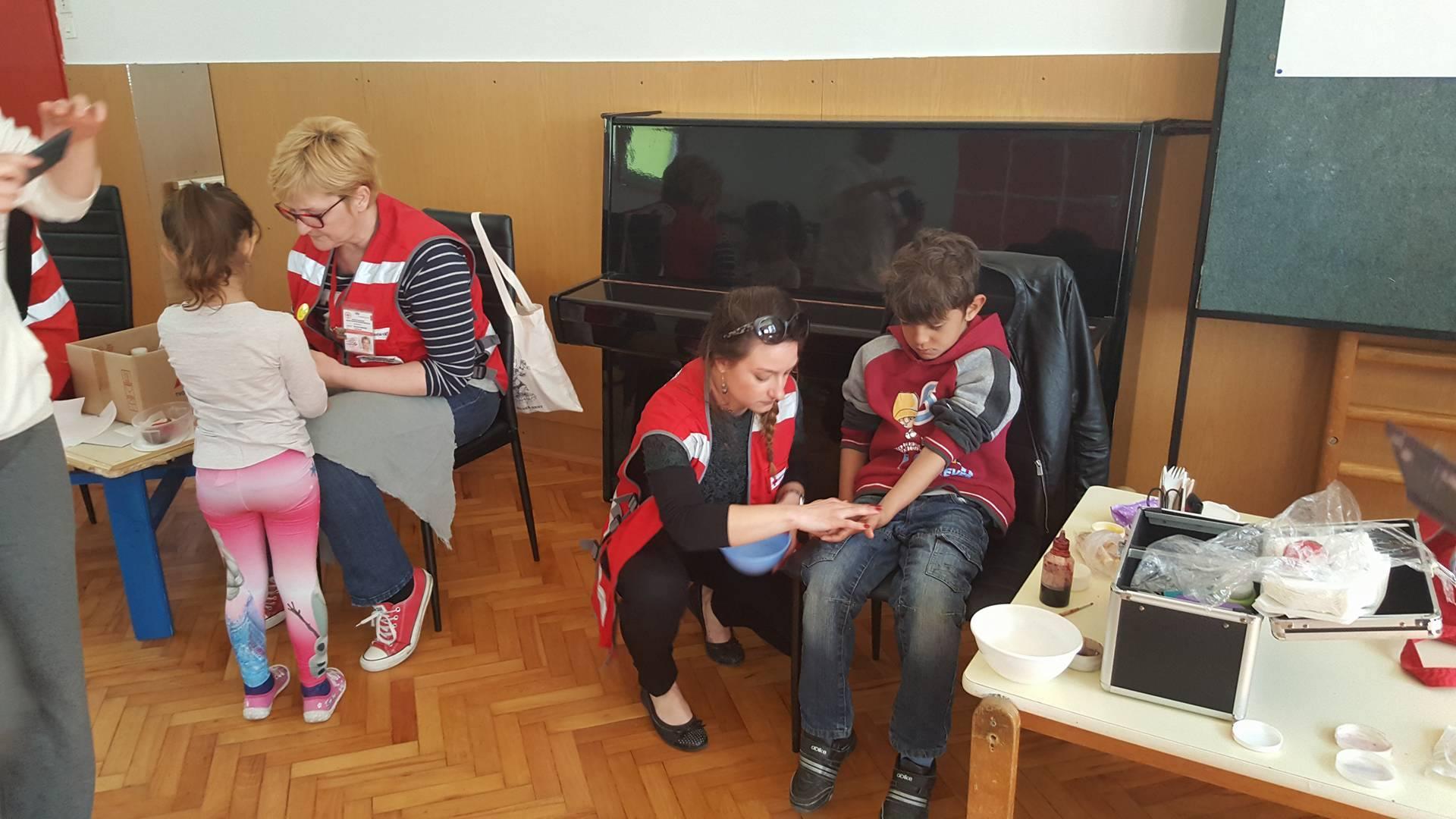 Održana radionica o ozljedama za djecu predškole
