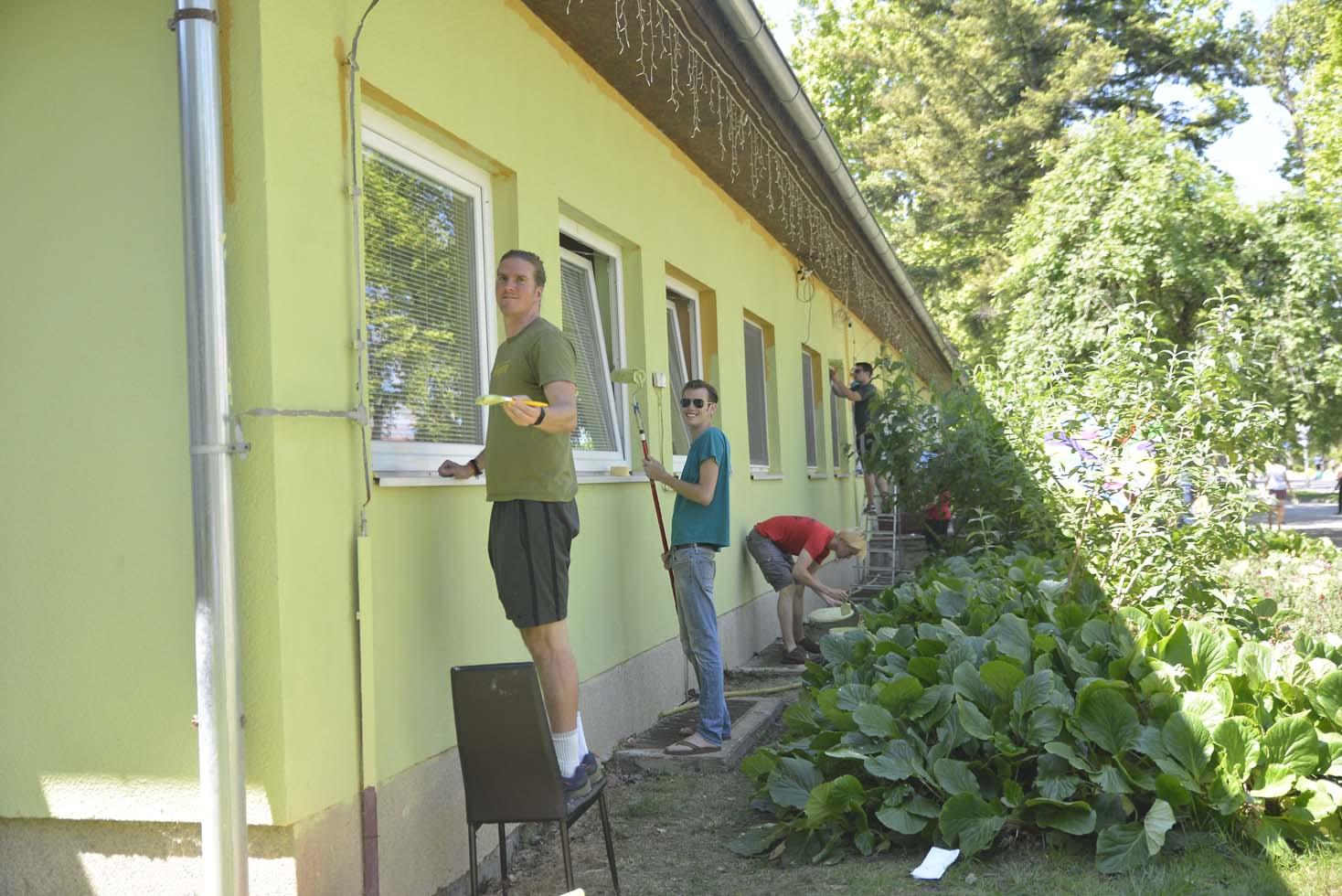Američki studenti uredili fasadu objekta Maslačak