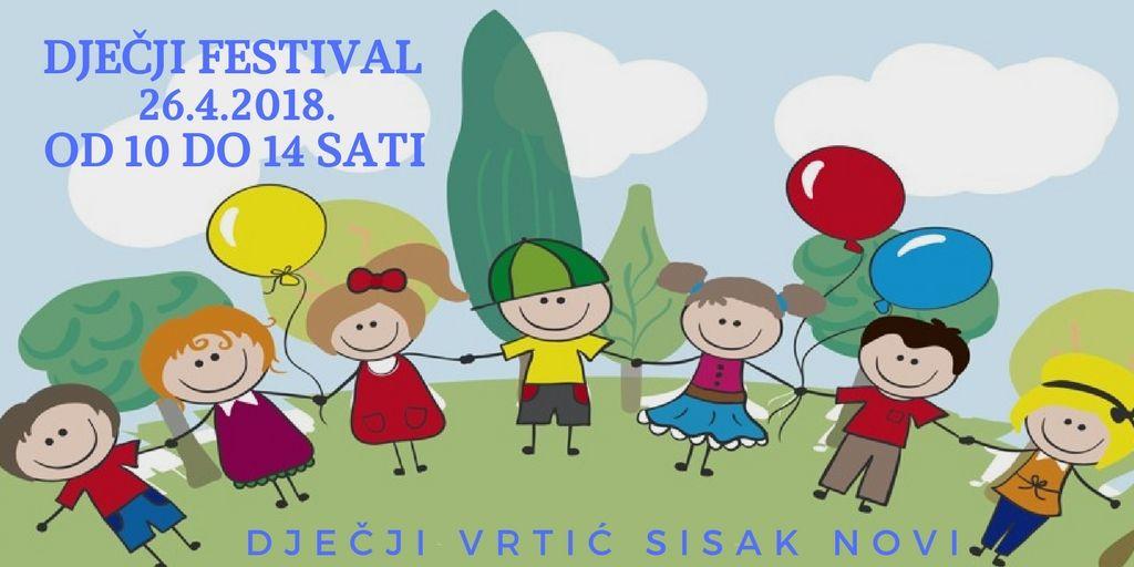 Dječji festival u DV Sisak Novi