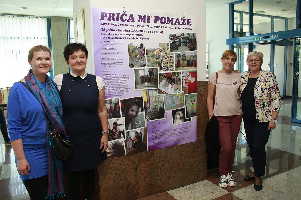 "Projekt ""Priča mi pomaže"" skupine Lavići predstavljen na državnoj smotri"