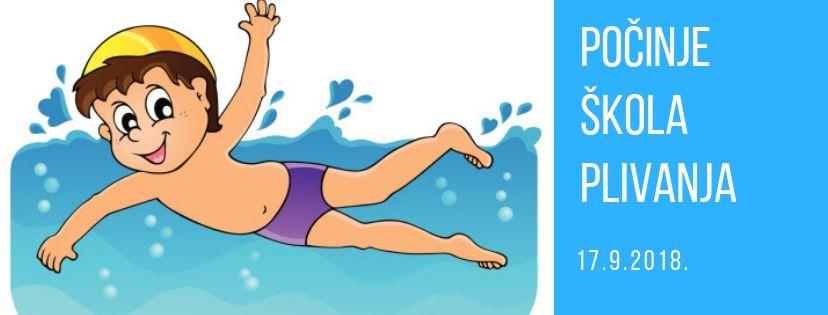 Od idućeg tjedna počinje škola plivanja