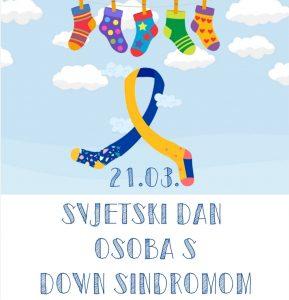 Obilježavanje Svjetskog dana osoba s Down sindromom