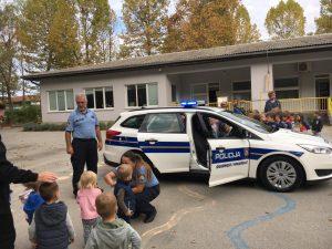 Obilježavanje Dana policije u Dječjem vrtiću Sisak Novi